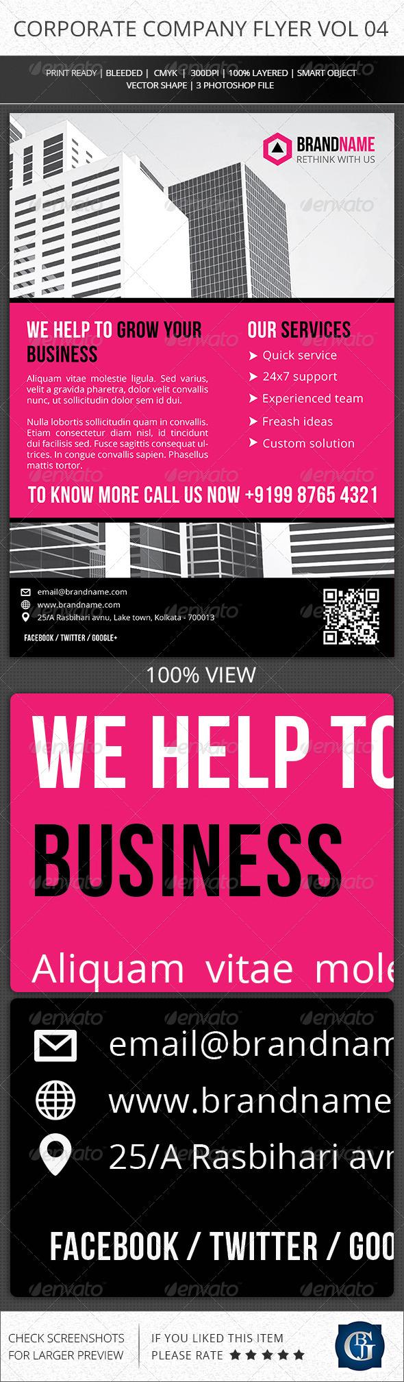 GraphicRiver Corporate Creative Flyer Vol 04 6406231