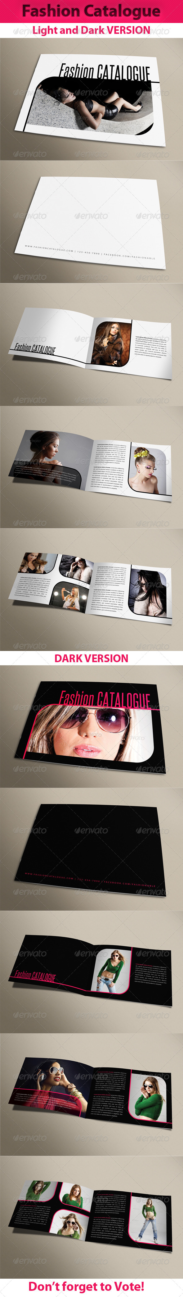 GraphicRiver Fashion Catalogue 01 6409672