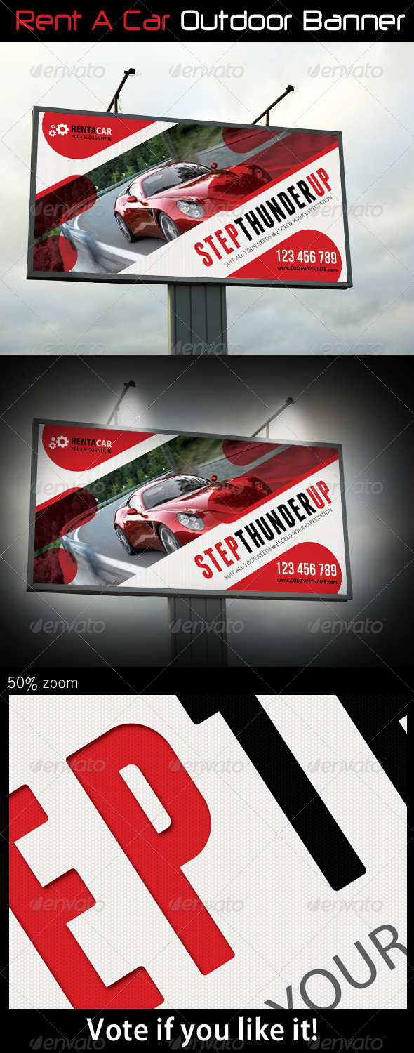 GraphicRiver Rent A Car Outdoor Banner 06 6439674