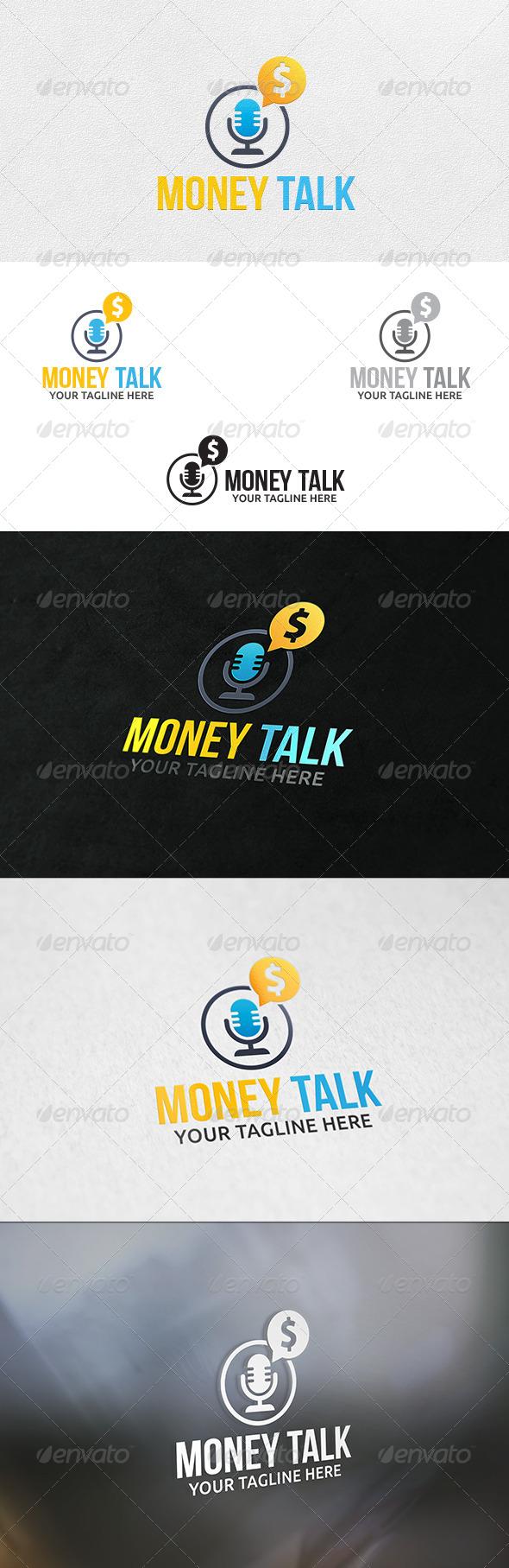 GraphicRiver Money Talk Logo Template 6439799