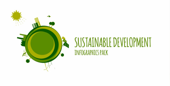 Sustainable Development Infographics Pack