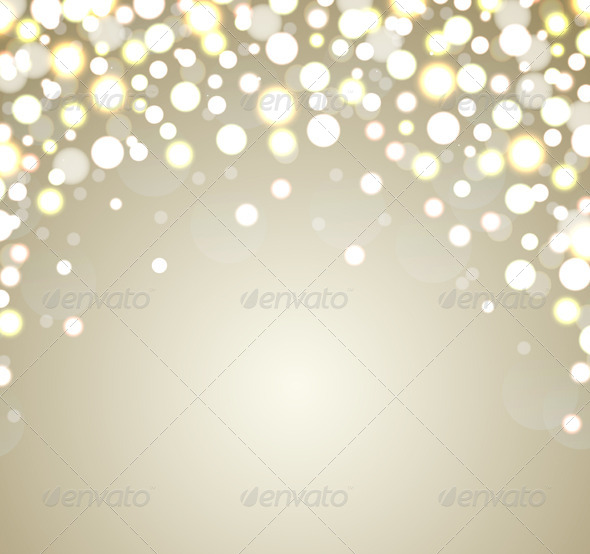 GraphicRiver Abstract Golden Christmas Background 6440415