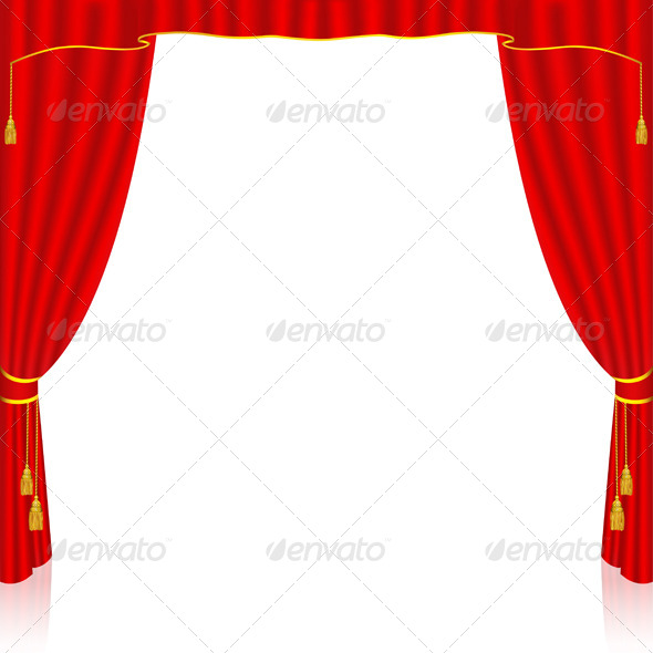 GraphicRiver Red Curtain 6440491