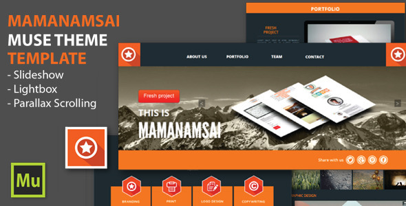 ThemeForest Mamanamsai Muse Theme 6440520