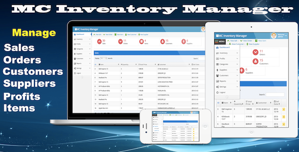 CodeCanyon MC Inventory Manager 6440660