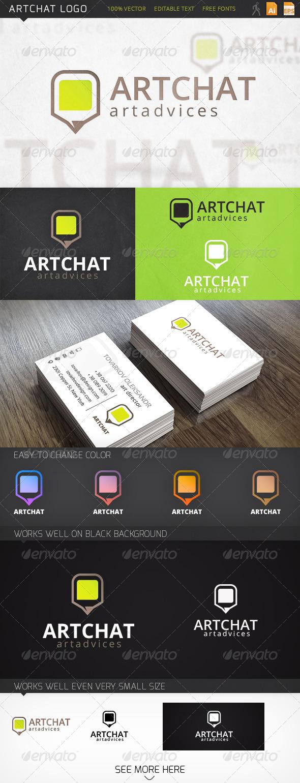 GraphicRiver Artchat Logo 6441487