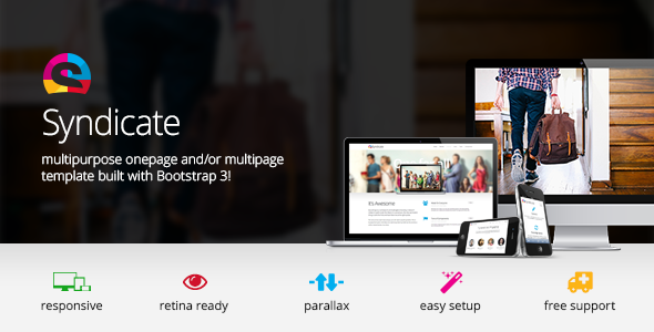 Syndicate - All Purpose Bootstrap Retina Template