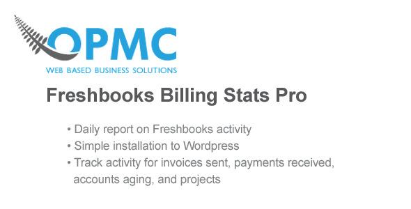 Freshbooks Daily Statistics Pro