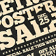 Retro Poster Sale Flyer PSD - GraphicRiver Item for Sale