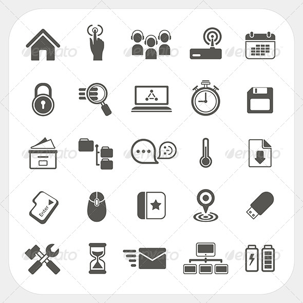 GraphicRiver Web Icons Set 6442661
