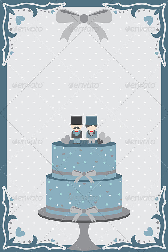 GraphicRiver Gay Wedding Cake 6442666