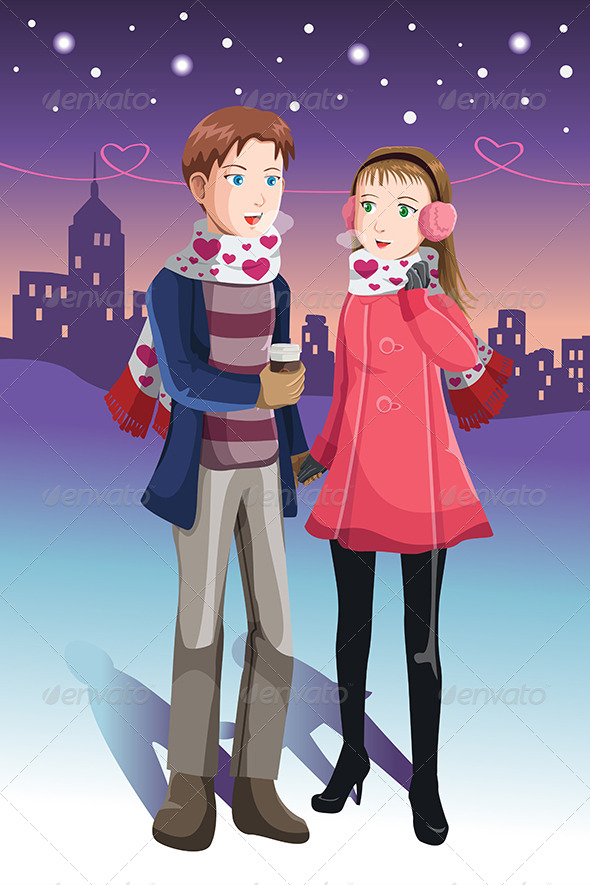 GraphicRiver Young Couple 6442684