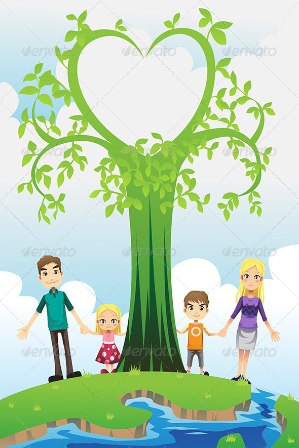 GraphicRiver Happy Family 6442780