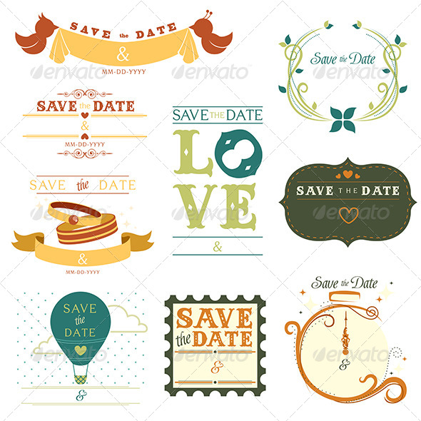 GraphicRiver Save the Date Tag 6442840