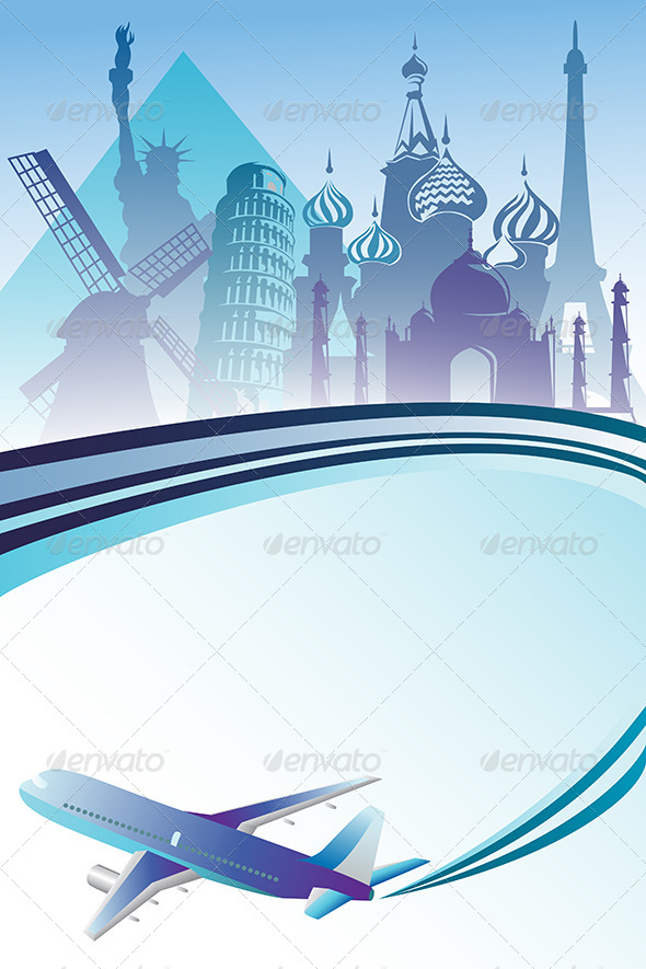 GraphicRiver Travel Background 6442881