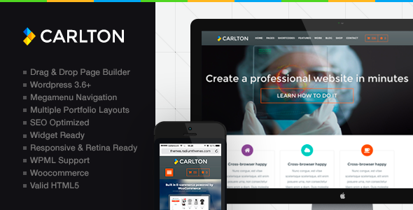 Carlton - A Powerful Multipurpose Wordpress Theme
