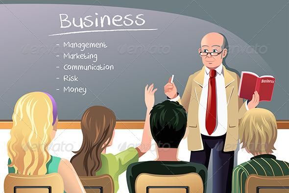 GraphicRiver Business Teacher 6443105