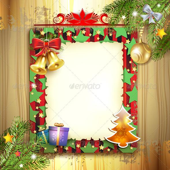 GraphicRiver Christmas Card 6443738
