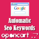 Opencart Auto Seo Keywords