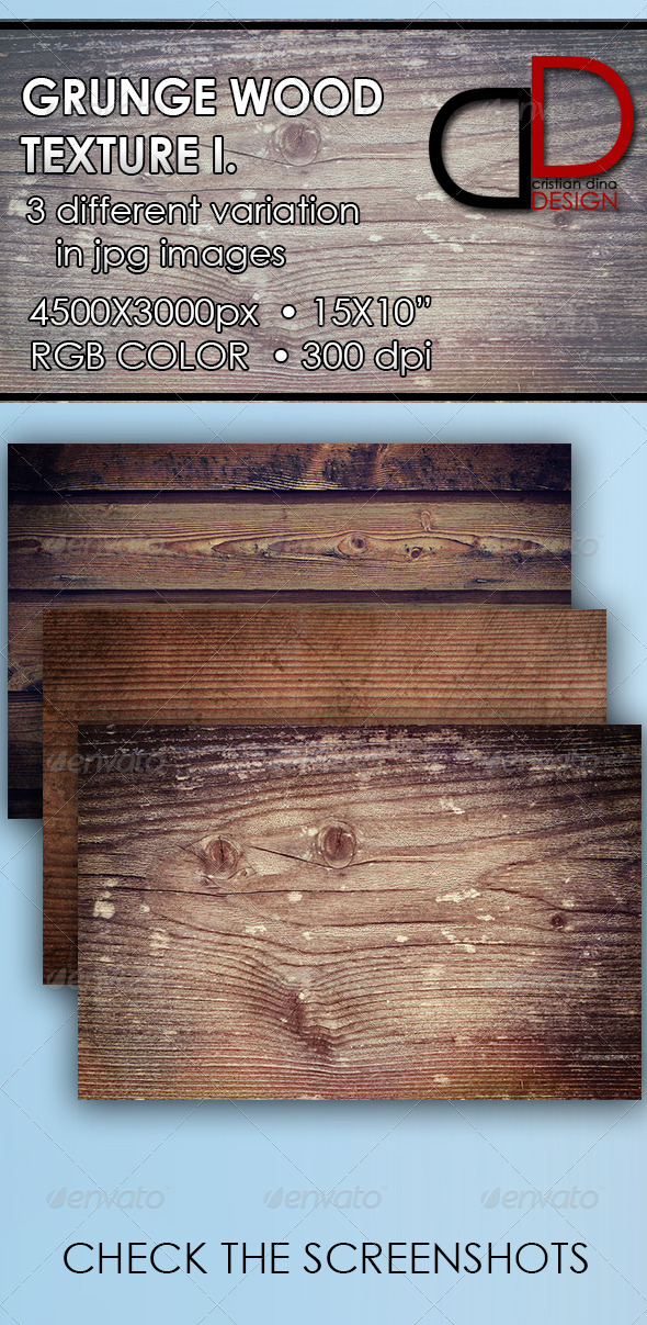 GraphicRiver Grunge Wood Texture I 6428538