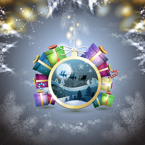 GraphicRiver Christmas with Gifts 6444369