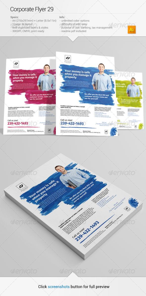 GraphicRiver Corporate Flyer 29 6444623