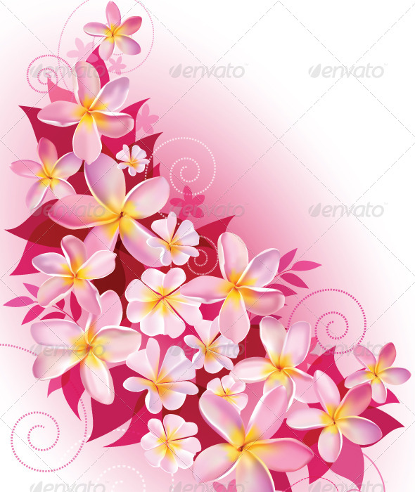 GraphicRiver Greeting Card or Invitation with Floral Background 6438623