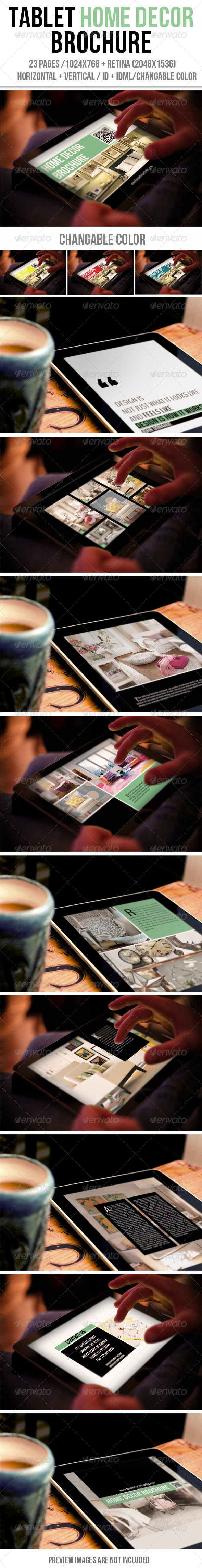 GraphicRiver Tablet Home Decor Brochure 6444855