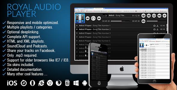 CodeCanyon Royal Audio Player 6444965