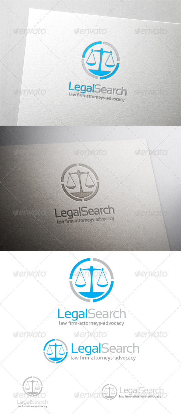 GraphicRiver Legal Search Logo 6445078