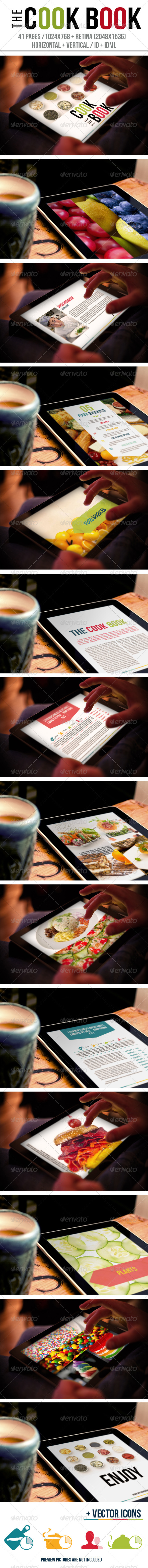 GraphicRiver The Cook Book Tablet 6445104