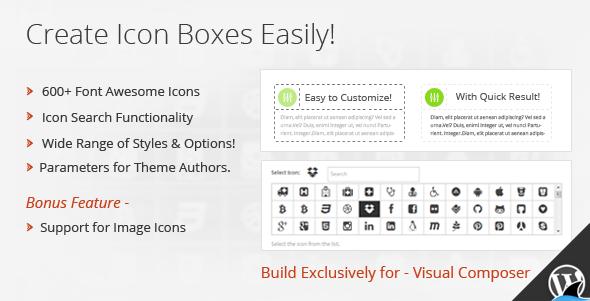 CodeCanyon Icon Box for Visual Composer 6421964