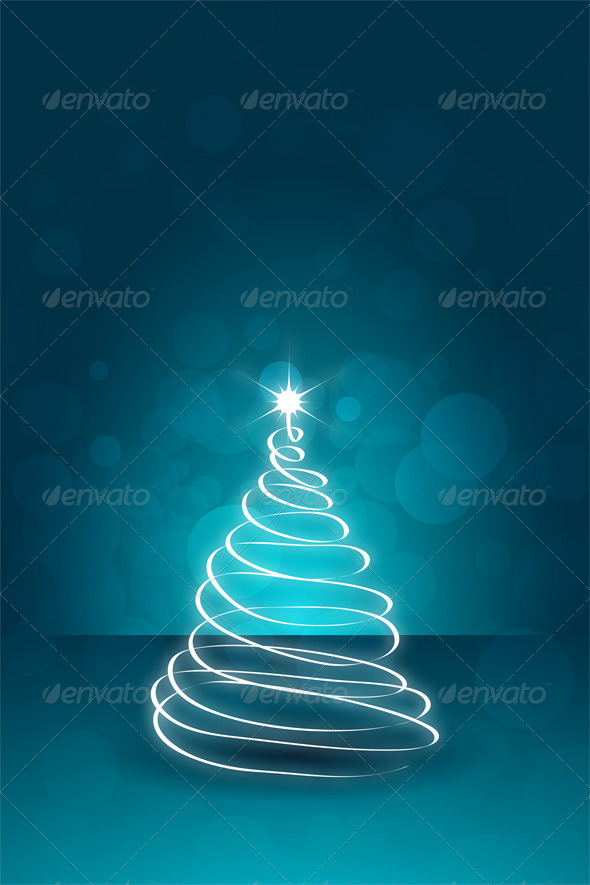 GraphicRiver Christmas Card Template 6445180