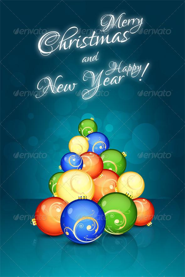 GraphicRiver Christmas Card 6445355