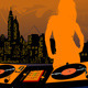 Dj girl silhouette - GraphicRiver Item for Sale