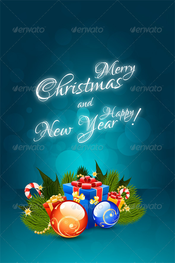 GraphicRiver Christmas Card 6445370