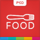 Food - Food & Restaurant PSD Single Page