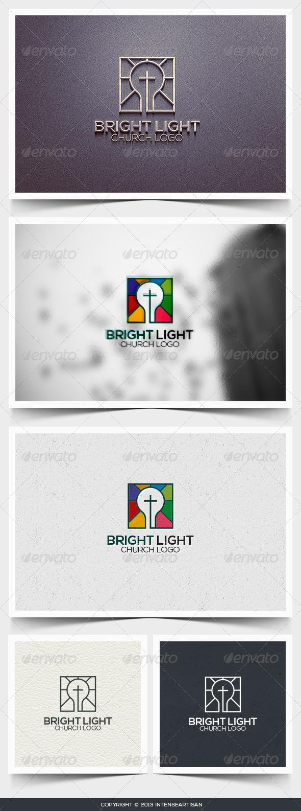 Bright Light Logo Template