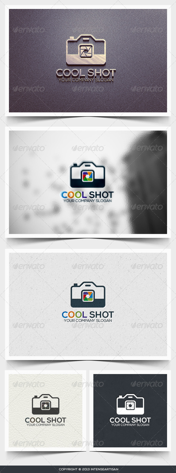 GraphicRiver Cool Shot Logo Template 6445813