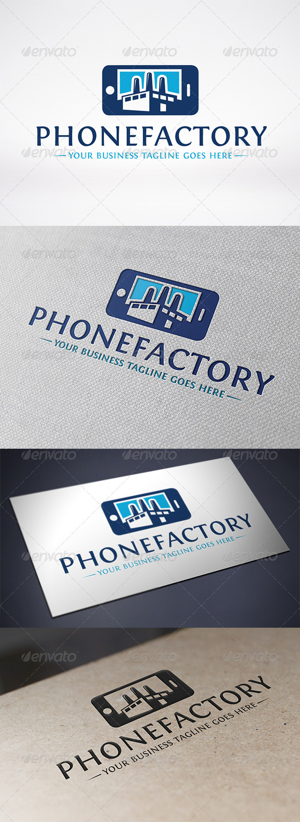 GraphicRiver Phone Factory Logo Template 6445992