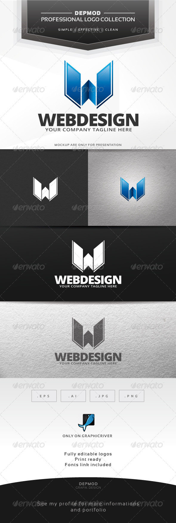 GraphicRiver Web Design Logo 6446003