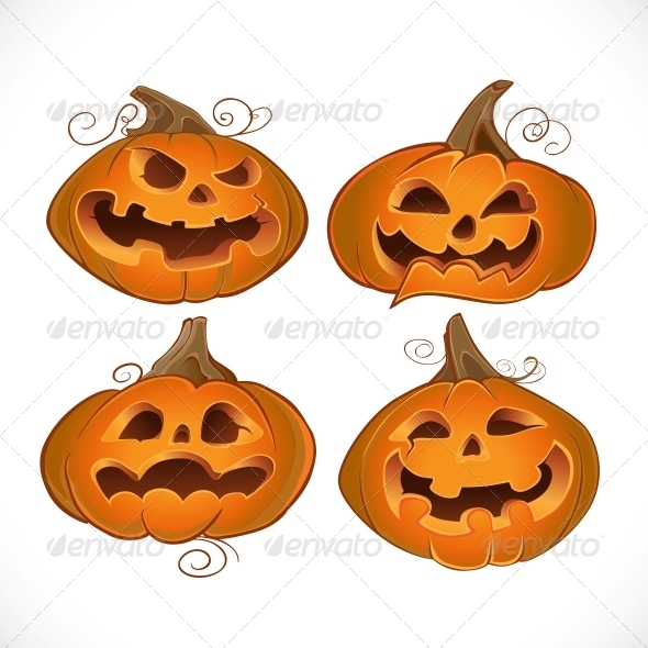 GraphicRiver Halloween Fun Pumpkins 6446052