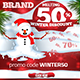 Winter Discount - Web Banner - GraphicRiver Item for Sale
