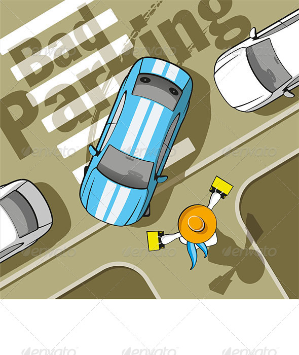 GraphicRiver Bad Parking 6446208