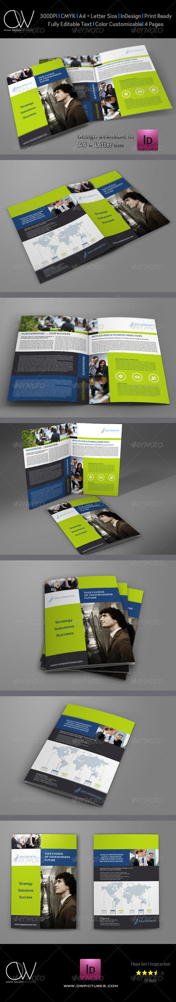 GraphicRiver Company Brochure Bi-Fold Template Vol.12 6446636