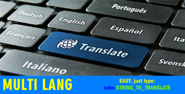 CodeCanyon Multi Lang Your website in multiple languages 6446670