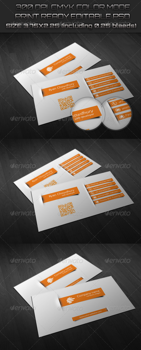 GraphicRiver Creative Business Card 6446826