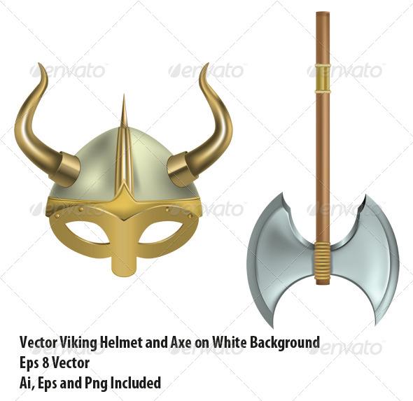 GraphicRiver Viking Equipment 6447137