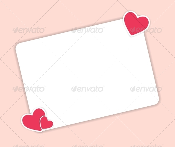 GraphicRiver Valentines Day Heart Background Vector 6447202