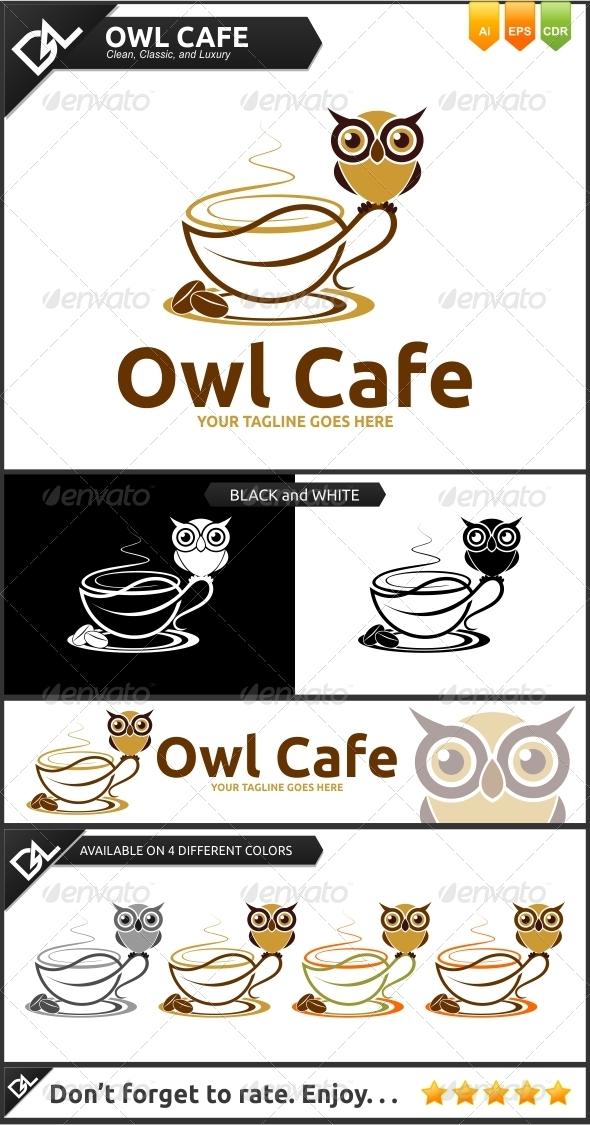 GraphicRiver Owl Cafe 6447204